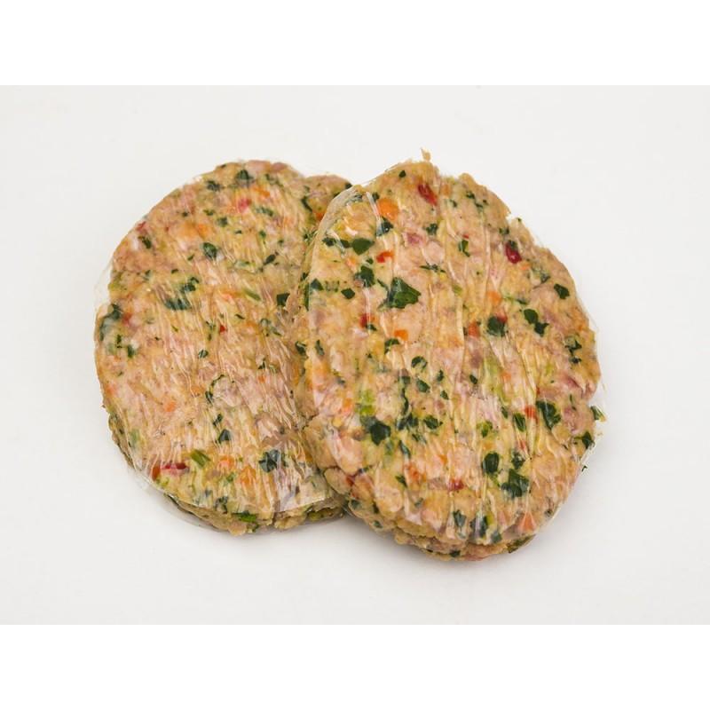 Hamburguesas de pollo y verduras - Hamburguesa de verduras ...
